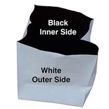 Load image into Gallery viewer, Rochfern Grow Bag with black inner side and white outer side , withe outer will  help in  reflection of  sunlight , black inside will keep root zone cool
