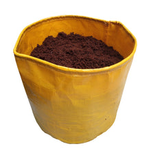 Load image into Gallery viewer, ROCHFERN Yellow HDPE Grow Bags 10x10 inches