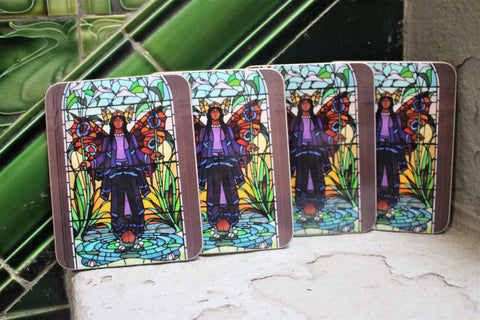 Angel Coasters (set of 4)
