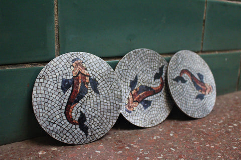 Fish Coasters (set of 3)
