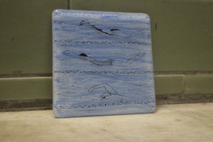Hand Painted Glass Coasters