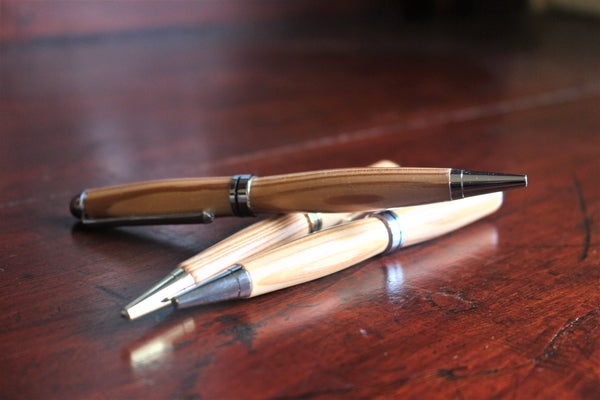 Hand-Crafted Wooden Pen