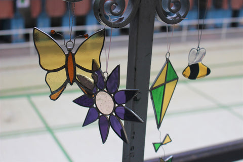 Stained Glass Hanging Ornaments
