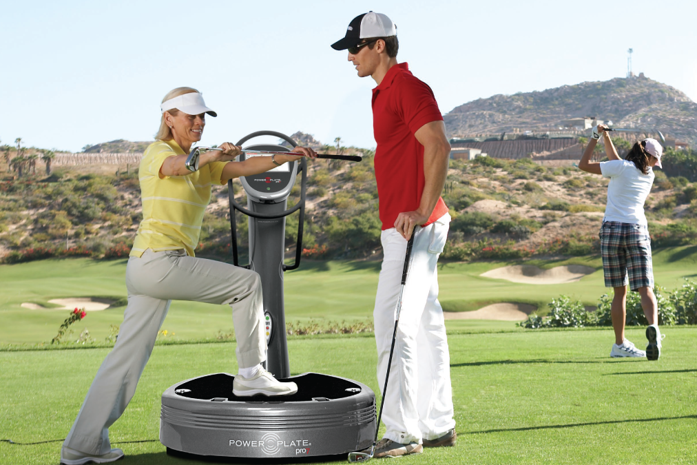 Power Plate & Golf