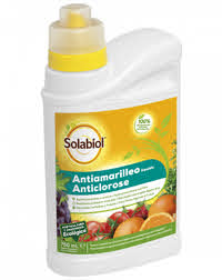 Antiamarilleo liquido Solabiol 750 ml