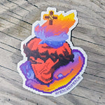 Sacred Pixels Sticker