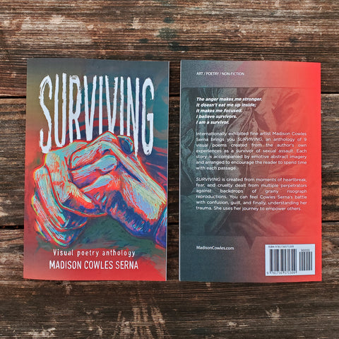 SURVIVING: Visual Poetry Anthology - Signed Copy