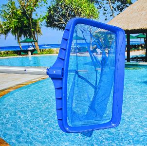 Professional Grade Pool Skimmer with 4ft Telescopic Pole