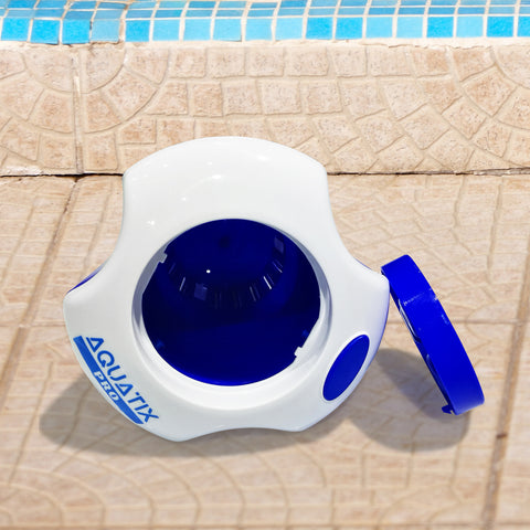Pool Dispenser with Thermometer