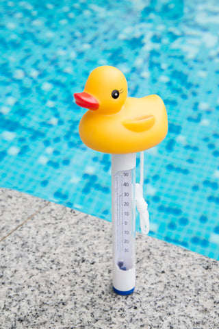 Floating Pool Thermometer - Duck Style