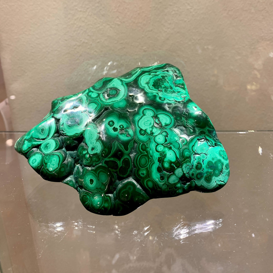 Large Malachite Display Pieces