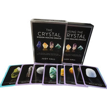 Load image into Gallery viewer, Crystal Wisdom Healing Oracle Cards by Judy Hall