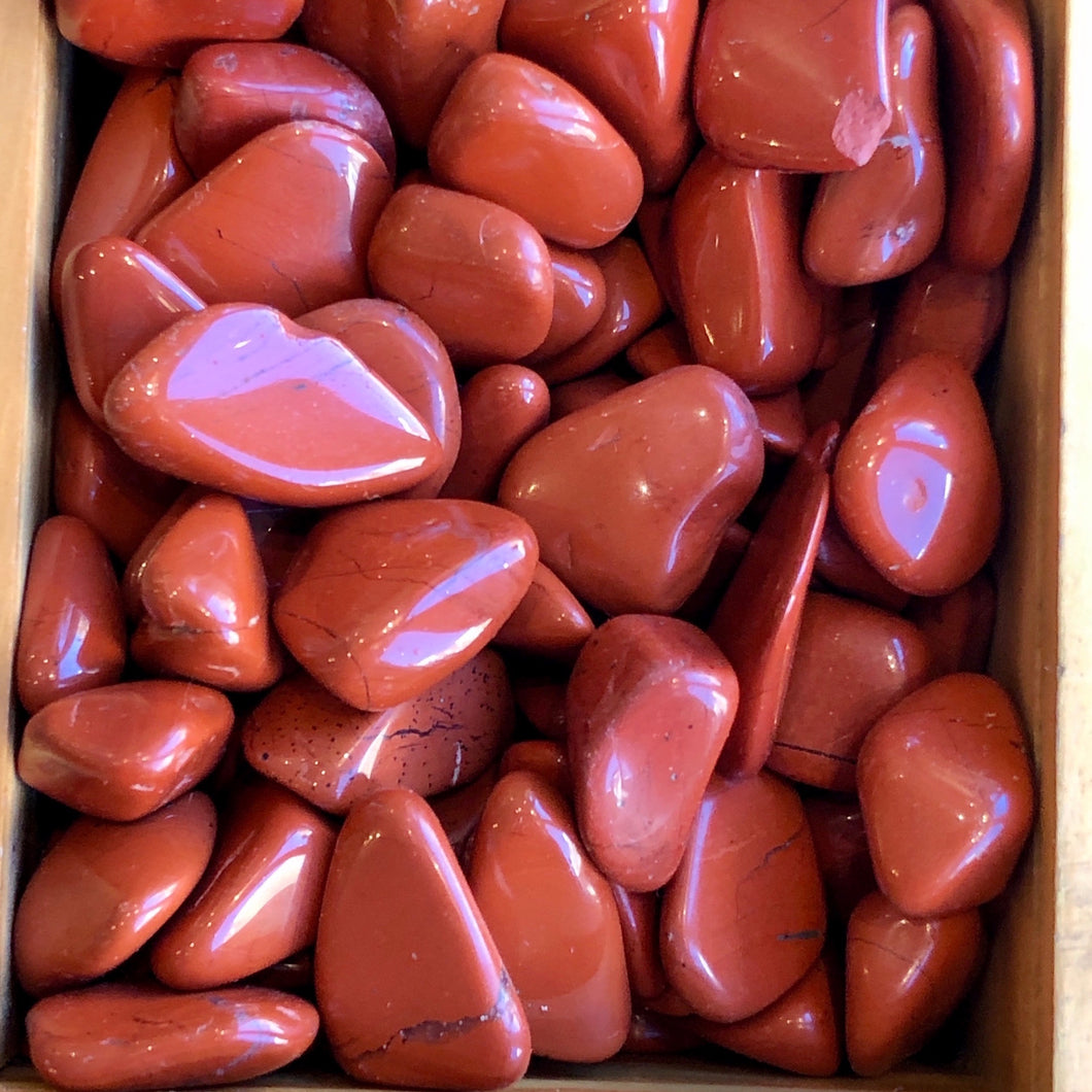 Crystal Tumbles - Red Jasper