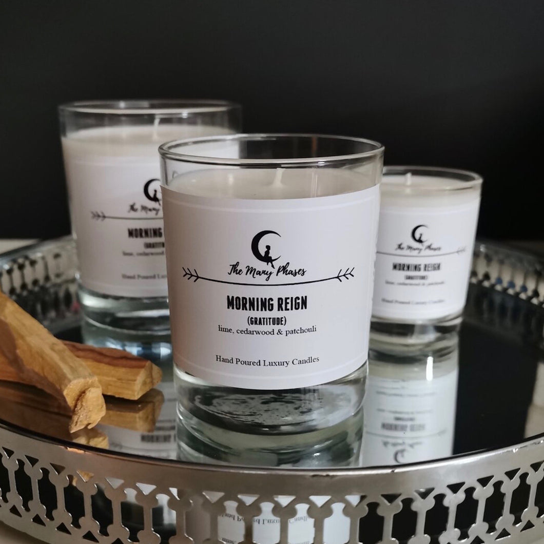 Morning Reign (Gratitude) Scented Candle