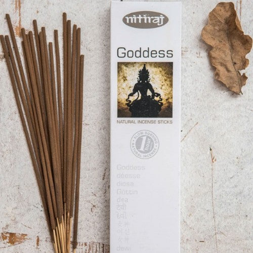 Nitiraj Platinum Incense Sticks - Goddess