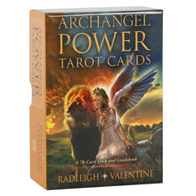 Load image into Gallery viewer, Archangel Power Tarot Cards by Radleigh Valentine