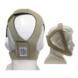 AG Topaz Style Adjustable Chin Strap XL (Tan) - CPAPplus.com