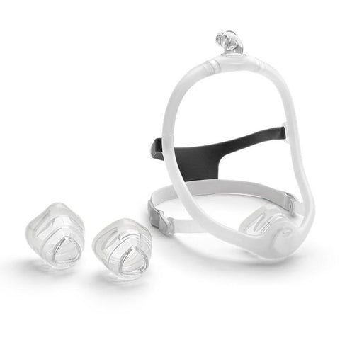 DreamWisp Nasal CPAP Mask with Headgear - Fit Pack - CPAPplus.com