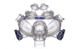 ResMed Mirage Liberty™ Full Face CPAP Mask with Headgear - CPAPplus.com