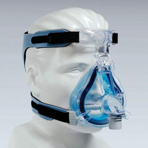 Philips Respironics ComfortGel Blue Full Face CPAP Mask with Headgear - CPAPplus.com