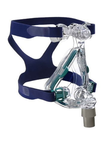 ResMed Mirage Quattro™ Full Face CPAP Mask with Headgear - CPAPplus.com