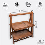 Foldable Organizer/Double Tray from Mahogany Collection (Large)