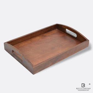 Classic Serving Tray from Mahogany Collection (Large)