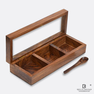 Basic Spice Box with Spoon