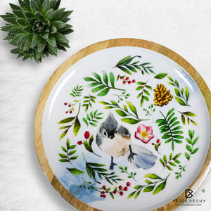 Titmouse Round Serving Platter
