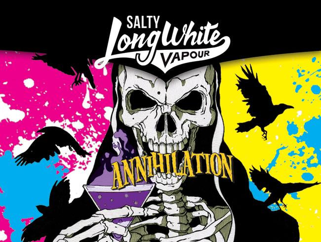 Long White Vapour - Salty Annihilation