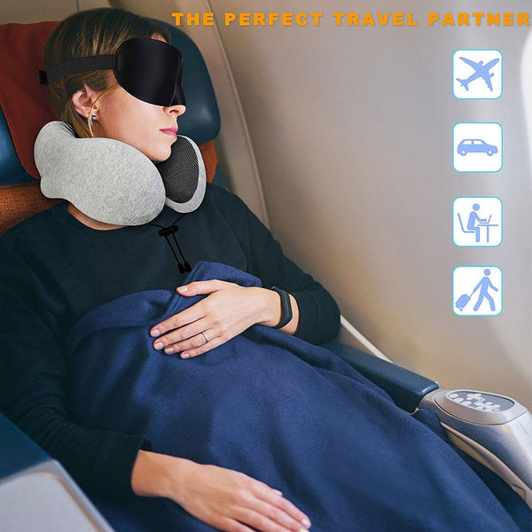 U Shaped Foam Travel Pillow - TurboRobot
