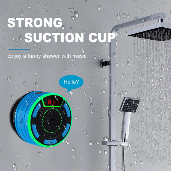 Waterproof Portable Wireless Shower Speaker - TurboRobot