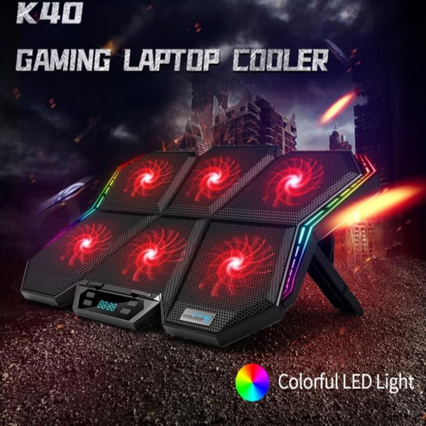 Led Screen Laptop Cooling Pad - TurboRobot