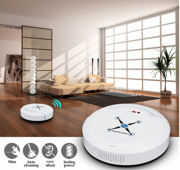 Automatic Smart Robot Vacuum Cleaner - TurboRobot