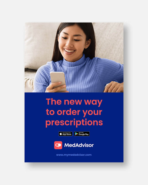 A3 Poster 'The New Way to Order Your Meds'