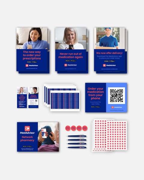 MedAdvisor Start-Up / Rebrand Kit