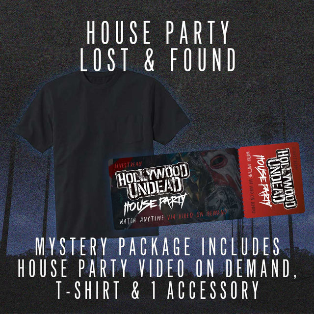 House Party Lost & Found Shirt Bundle