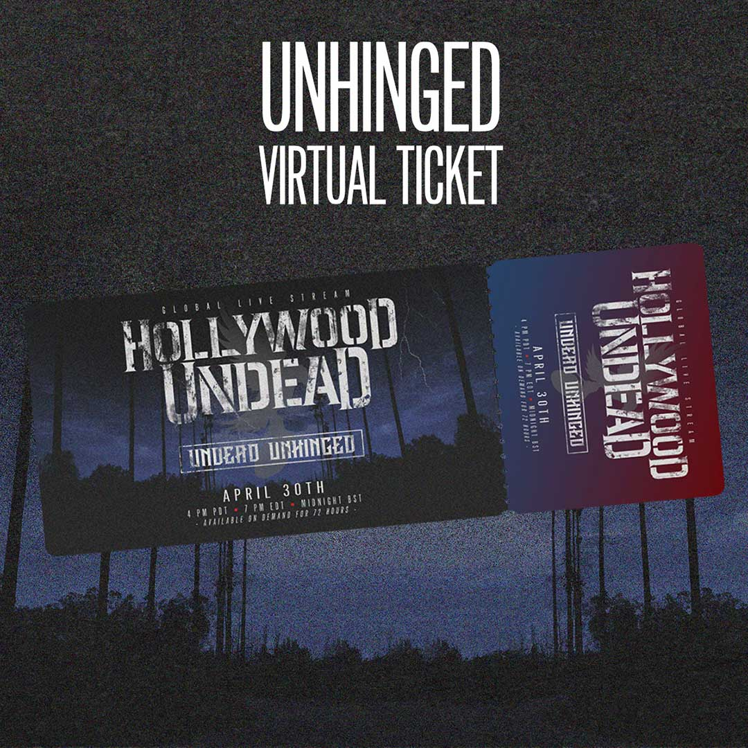 Image of Undead Unhinged Ticket