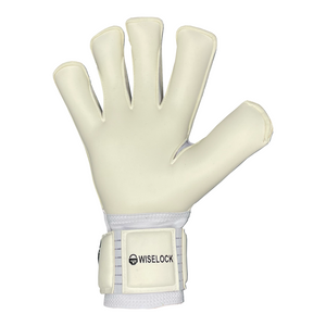 Profi Wiselock White/Black Goalkeeper Gloves