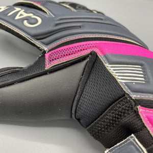 Wiselock Grey/Pink Goalkeeper Gloves