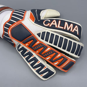 Junior Legacy Ltd Edition Grey/Orange Goalkeeper Gloves