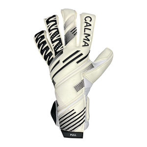 Junior Profi Wiselock White/Black Goalkeeper Gloves