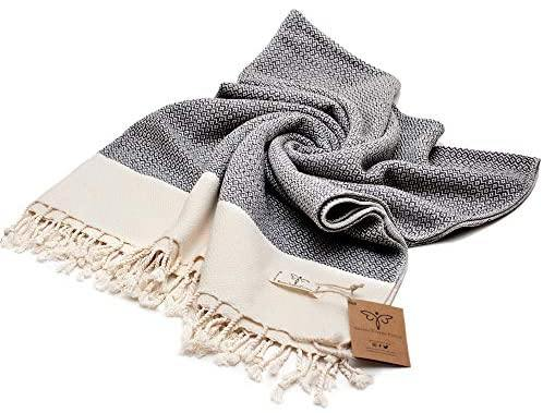 Smyrna Original Turkish Throw Blanket | 100% Cotton, 50 x 60 Inches - The Fiterati