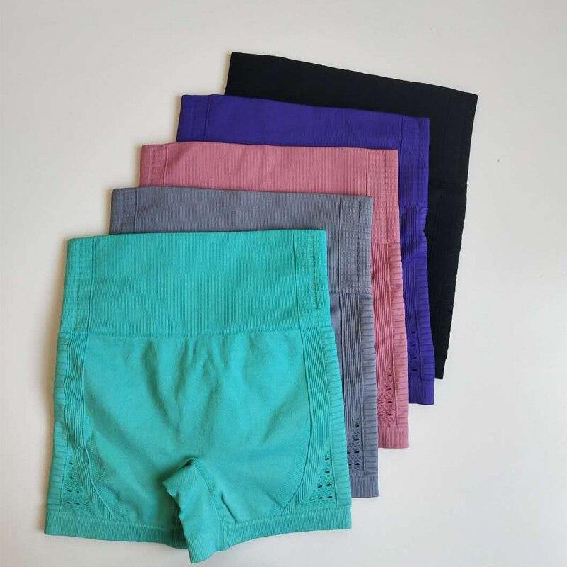 Seamless High Waist Yoga Cycling Shorts - The Fiterati