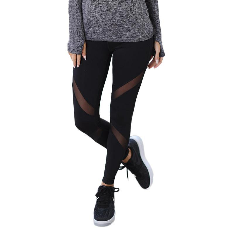 Women's Yoga Sports Leggings Slim Fit Workout Leggings Running Pants Excercise Trousers Pant Sports - The Fiterati