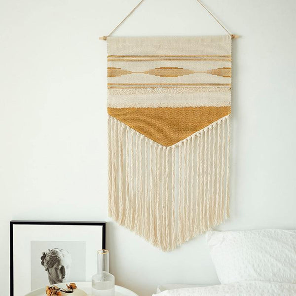 Vintage Boho Hanging Macramé Tapestry Decoration - The Fiterati