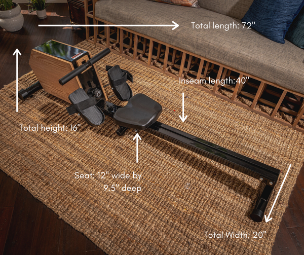 be mindful | mindful living ERG Rowing Machine