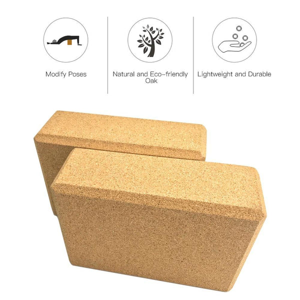 The Aspen Block | Eco-friendly Cork Yoga Block - The Fiterati