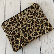 Load image into Gallery viewer, Leopard Gold Clutch