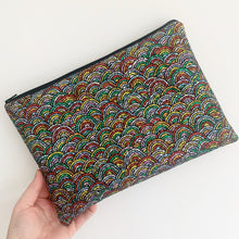 Load image into Gallery viewer, Rainbow Clutch Bag